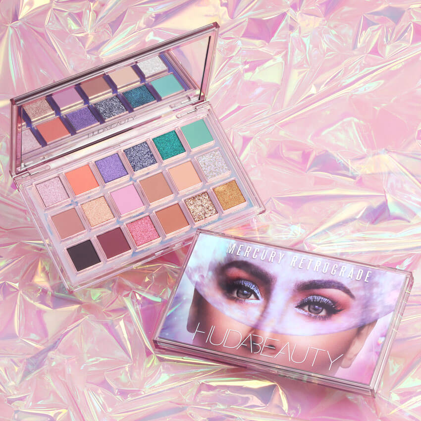 Mercury Retrograde, la nouvelle palette de Huda Beauty