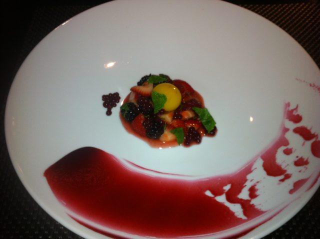 Gastronomie moléculaire dessert