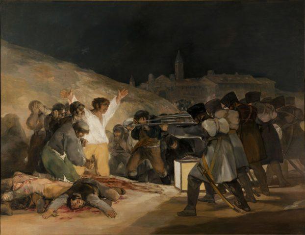Le 3 Mai - de Francisco, Goya, peintre de la période du romantisme