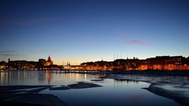Helsinki voyage