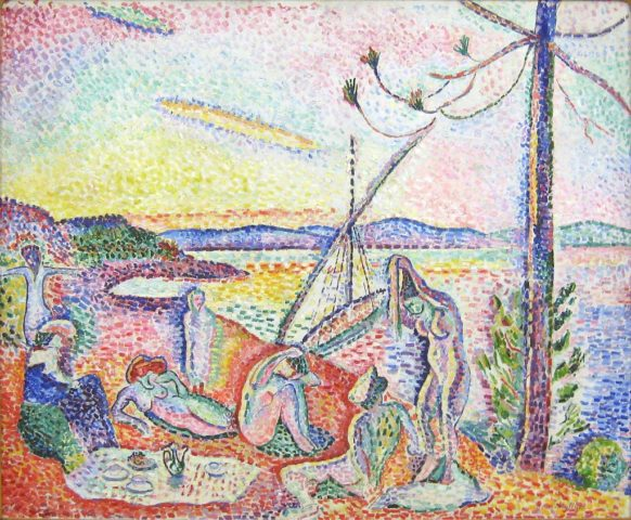 Luxe, calme et volupté - tableau de Matisse, artiste du fauvisme