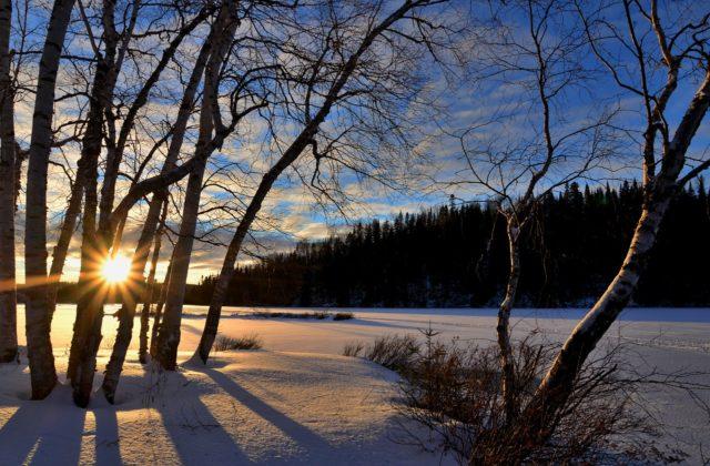 Le paysage du Nord du Canada