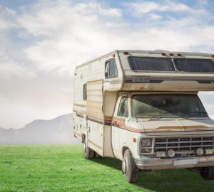 Camping car en France