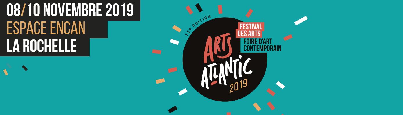 Affiche Arts Atlantics 2019