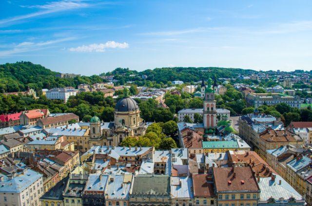 La ville d'Ukraine