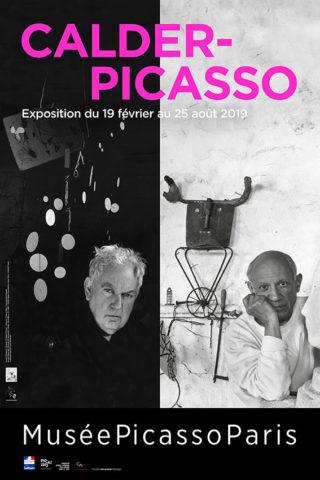 Affiche exposition Calder-Picasso