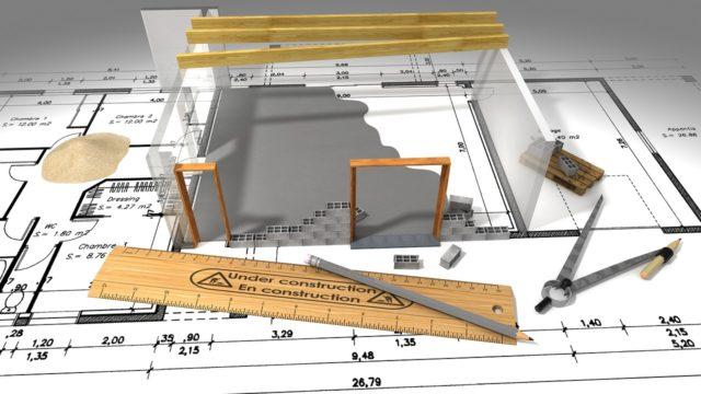 Feuillet d'un book d'architecte