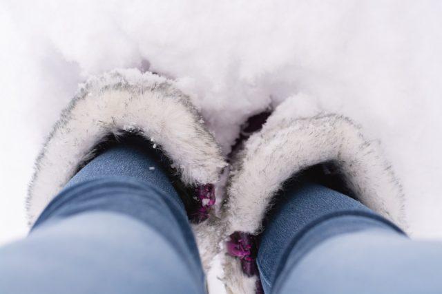 bottes fourrées pour l'hiver