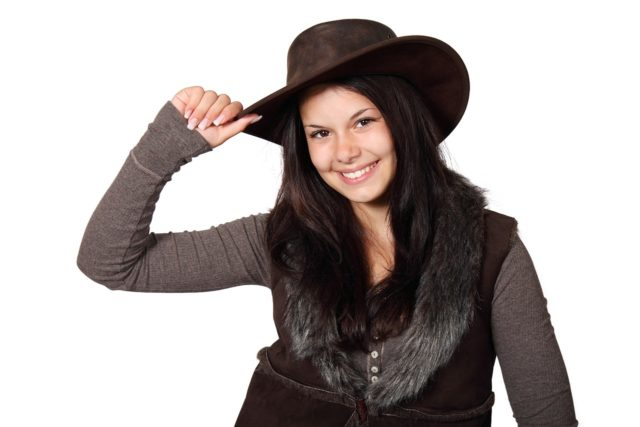 le chapeau de cow-boy
