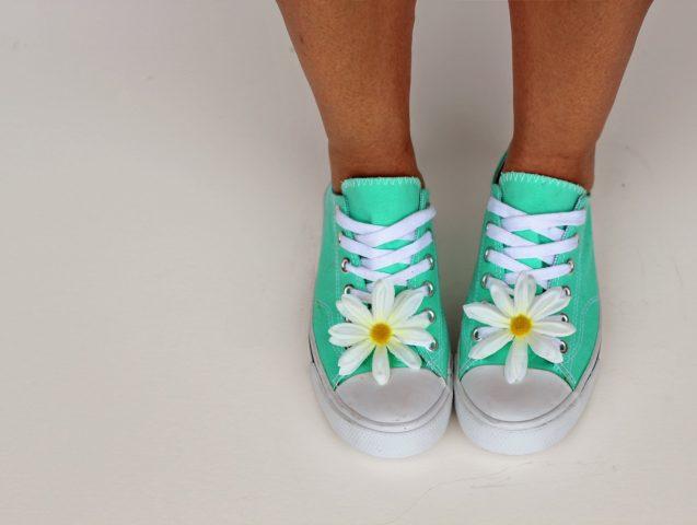 Mignonneté : chaussures plates