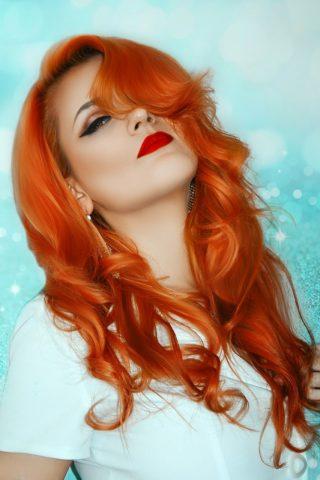 Maquillage pour les filles à cheveux roux