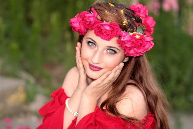 Couronne fleur pour la mode bohème