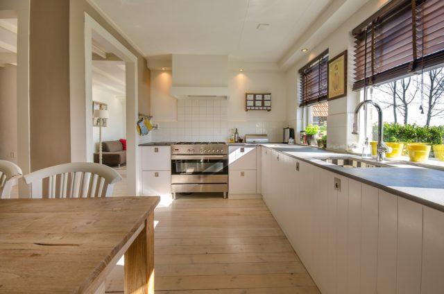 Tenir compte de l'espace disponible dans la cuisine