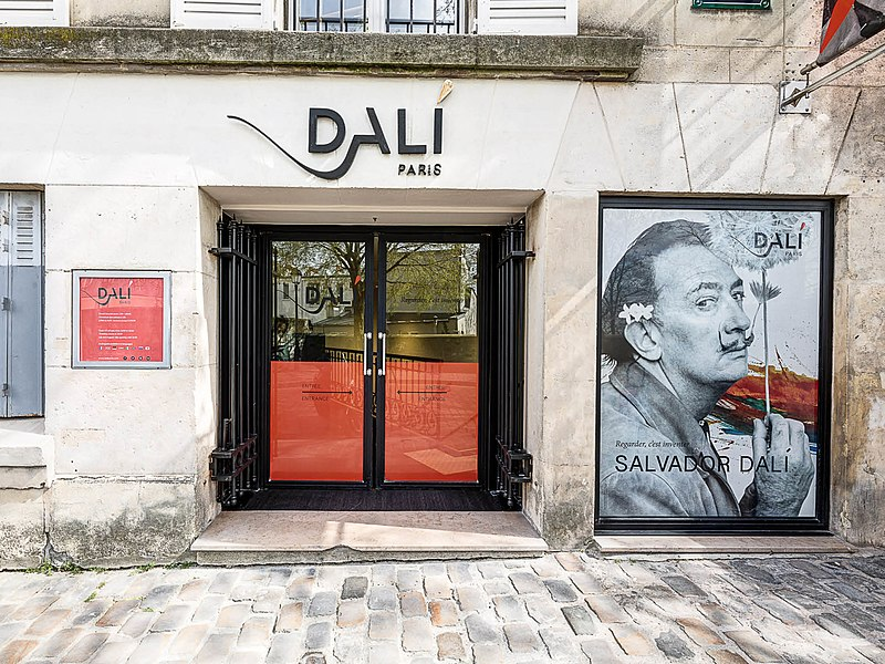 Dali paris expo