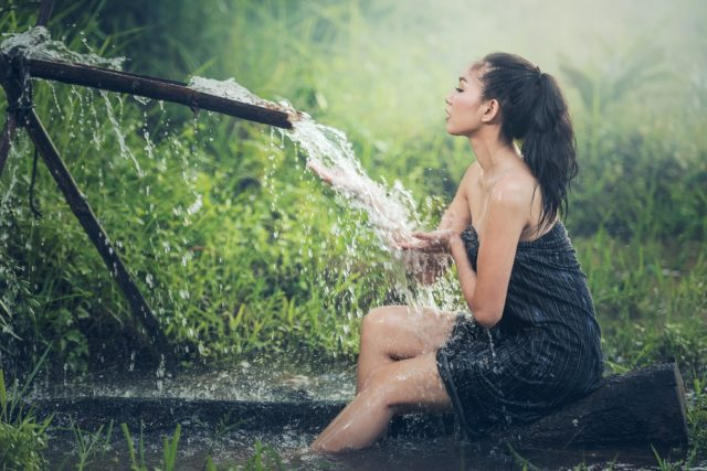 Prendre des douches régulièrement