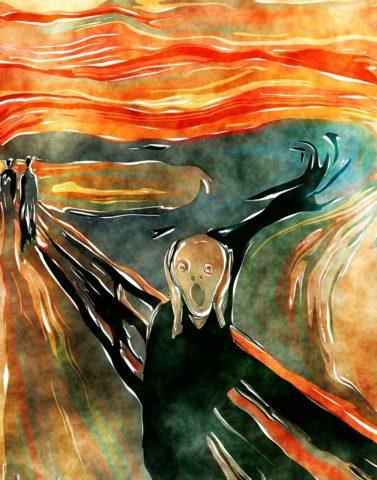 Le cri de Edvard, Munch
