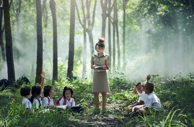 Volontariat international pour enfants défavorisés