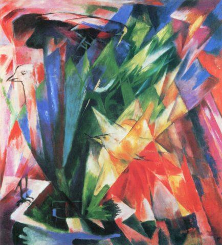 Un tableau expressionniste