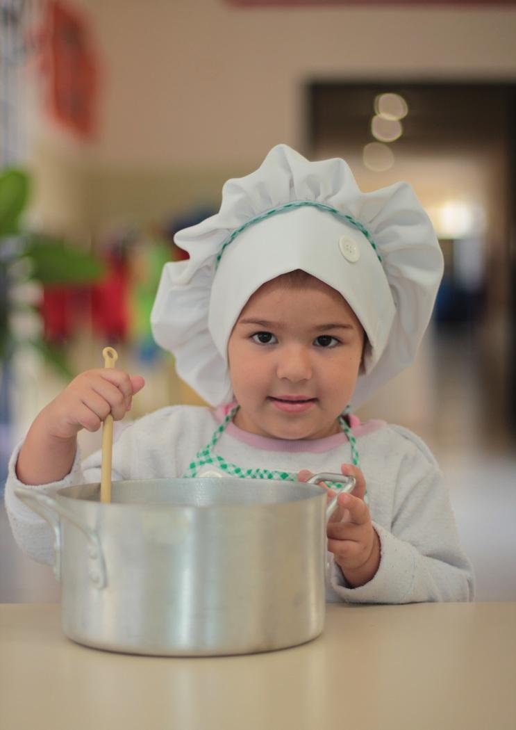 Cuisiner avec les 3 à 5 ans
