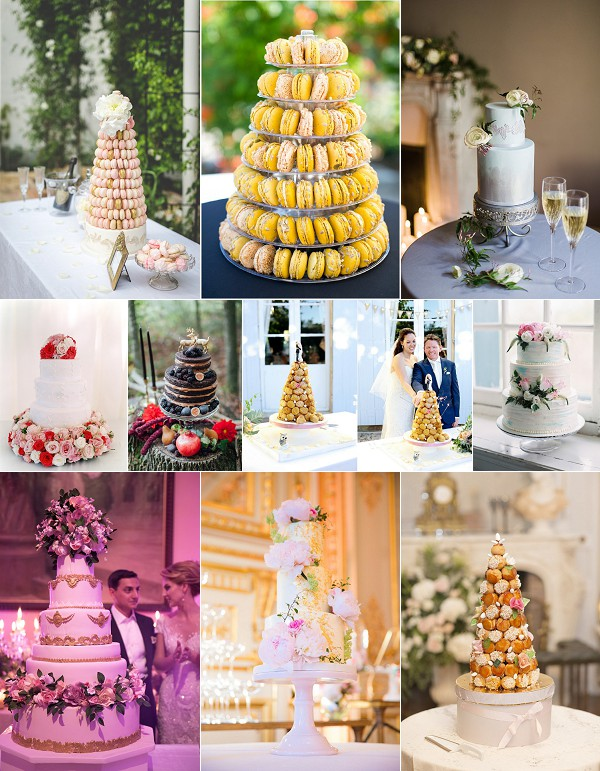 6 idées de gâteau de mariage pour 2020