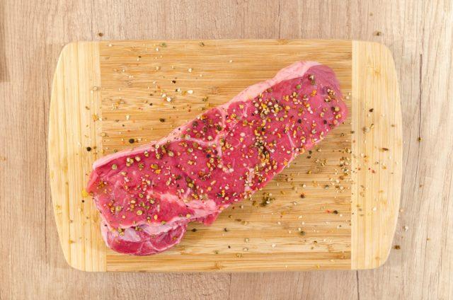 Le gros sel pour assaisonner la viande