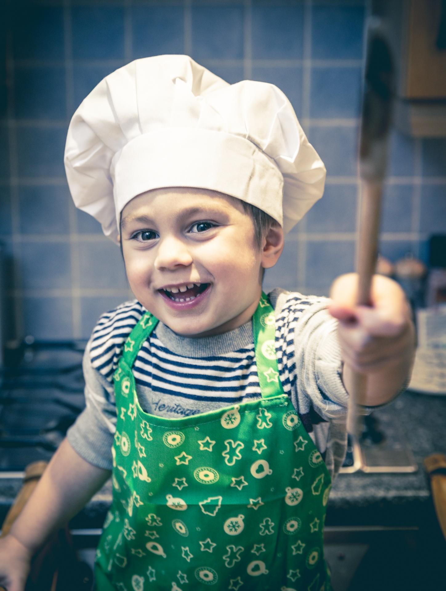 Cuisiner avec les 8 à 11 ans