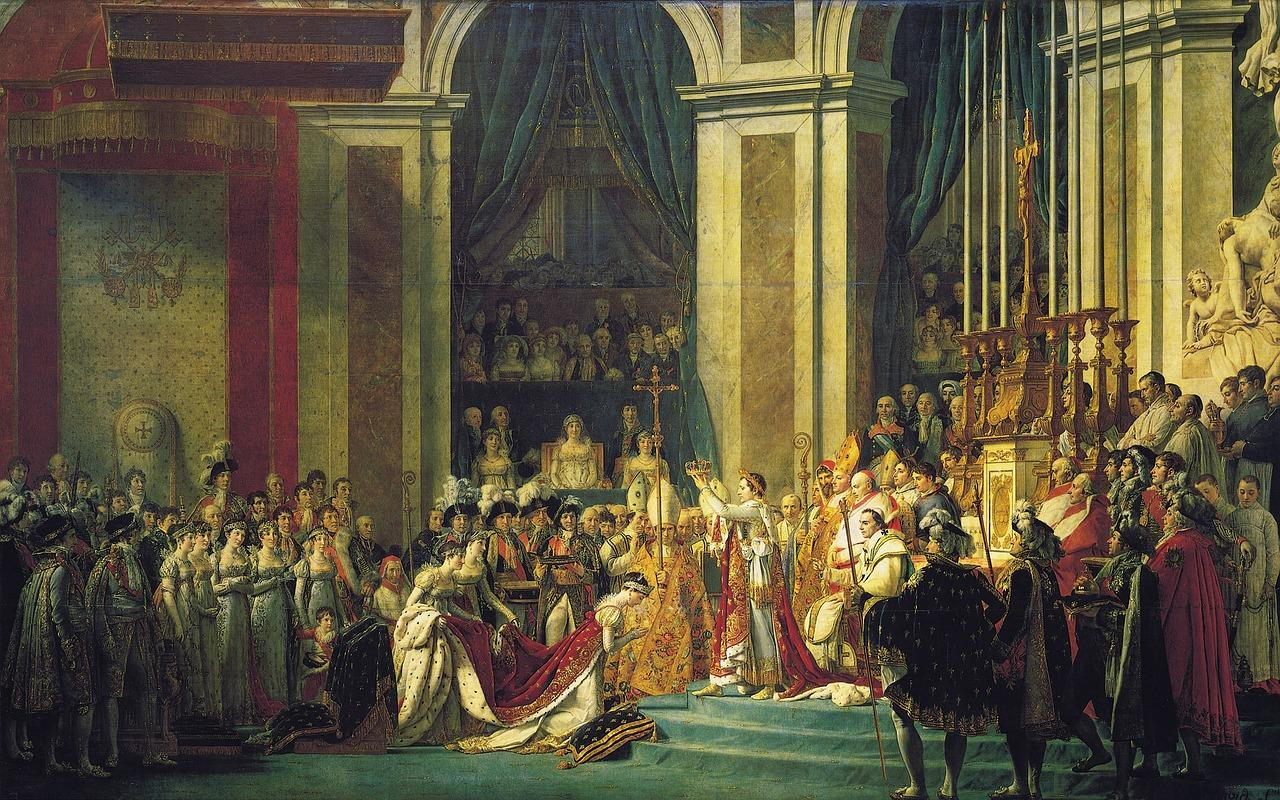 Tableau de Jacques-louis, David : époque du néoclassicisme