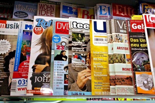 les magazines de mode pour être à jour