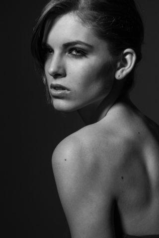 Photo tirée d'un portfolio de mannequin