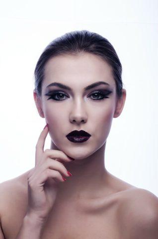 Maquillage du soir : œil de chat