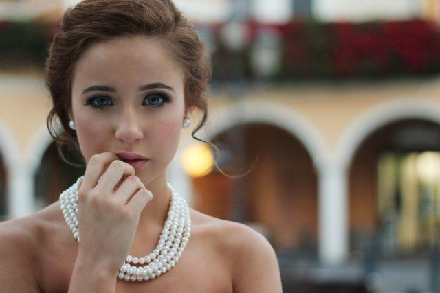 Mignonneté : maquillage léger et rosé