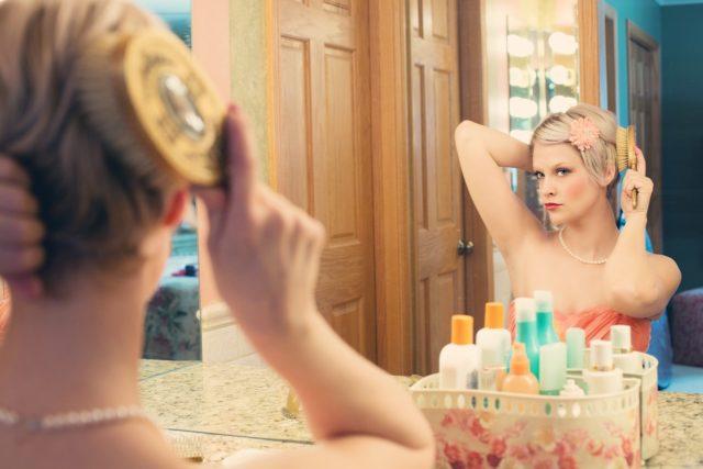 S'entrainer à poser devant un miroir
