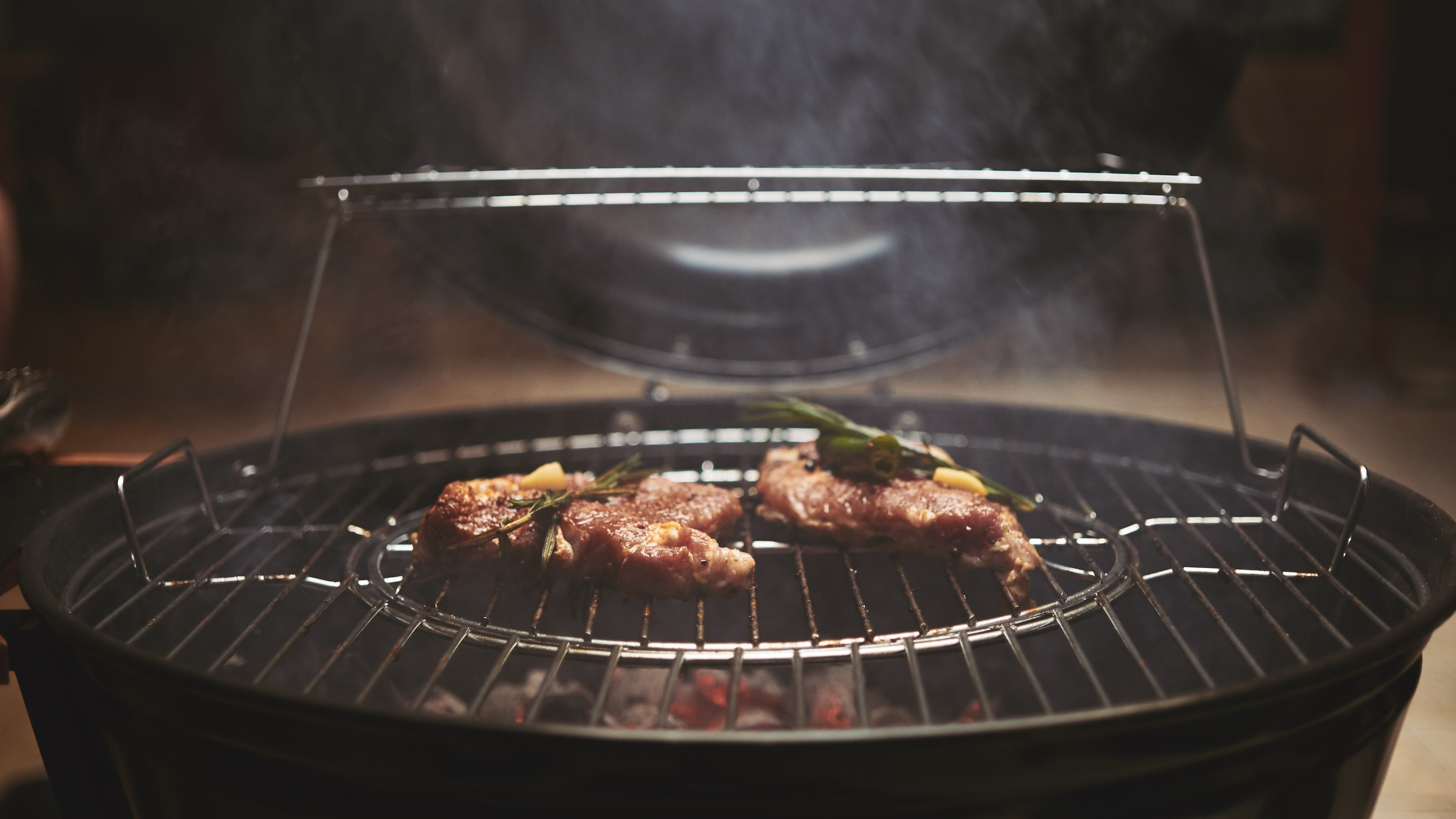 Avantage barbecue au feu de bois