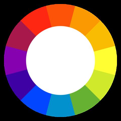 La roue des couleurs