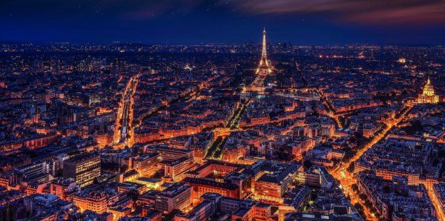 Paris vue de nuit