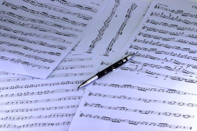 Partition : un élément à inclure dans son portfolio de musicien