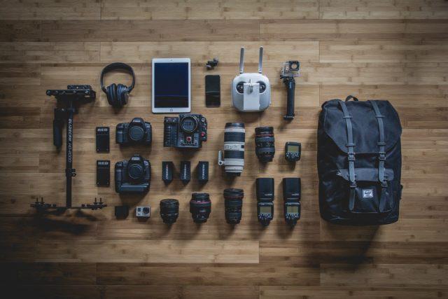 Le book d'un photographe : un aperçu du matériel nécessaire