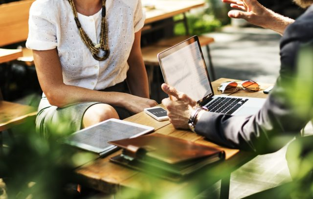 Présenter un portfolio professionnel lors d'un entretien d'embauche
