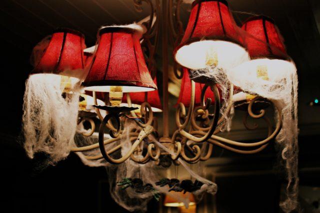 décoration d'intérieur halloween