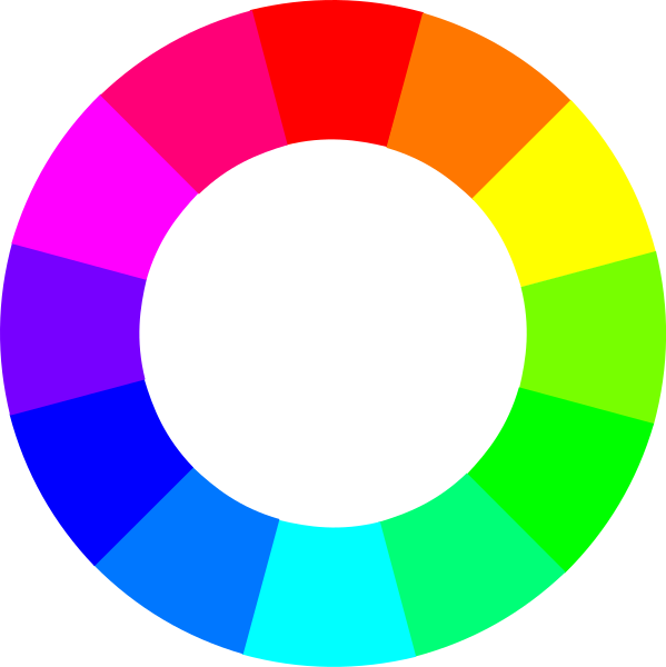 Une roue chromatique