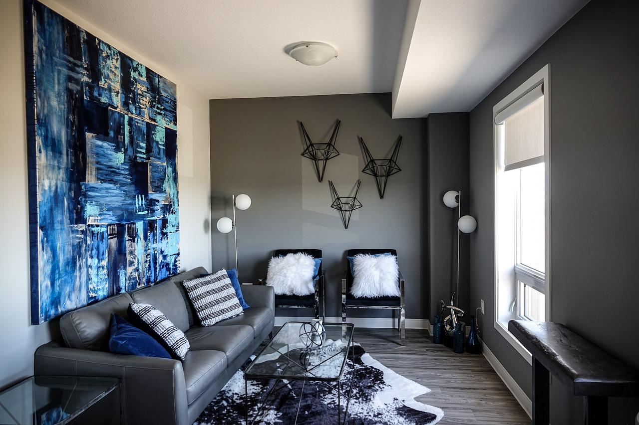Les couleurs tendances pour décorer le mur de votre salon
