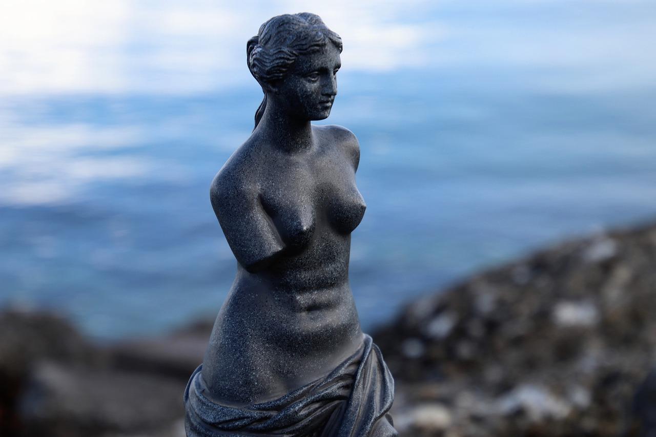 La statue nue de Vénus