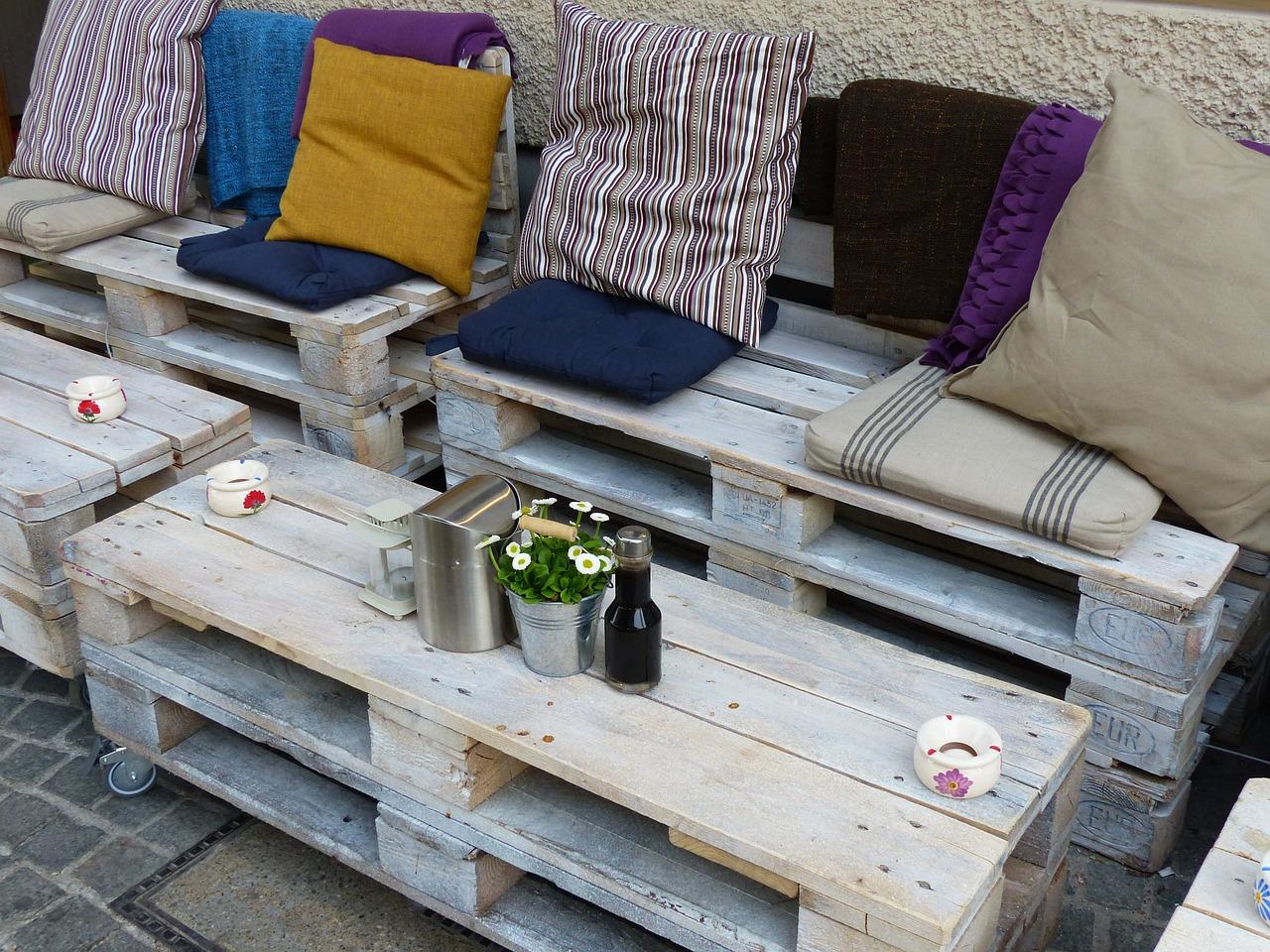 9 idées de décoration à base de palette en bois