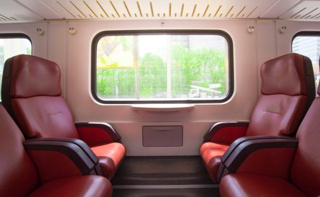 Voyager confortablement dans un train