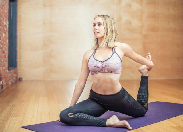 brassière yoga